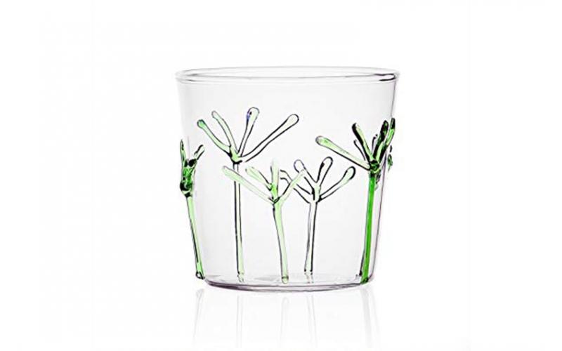 Ichendorf Milano Greenwood Bicchiere Rami verdi