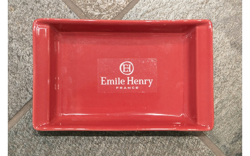 Lasagnera singola Emile Henry color lampone