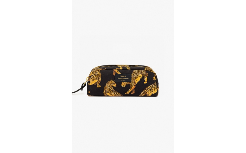 Beauty case Wouf Black Leopard