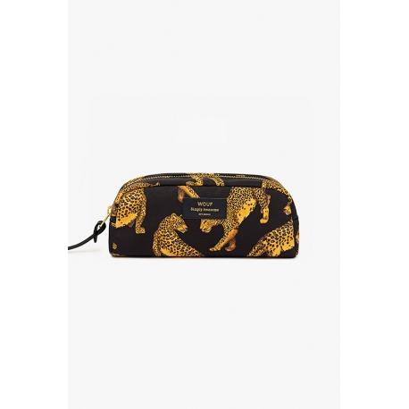Beauty case Wouf Black Leopard