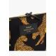 Pochette Wouf Black Leopard