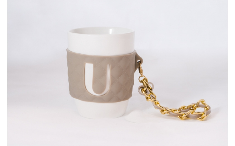 Mug So Chic Baci Milano lettera U