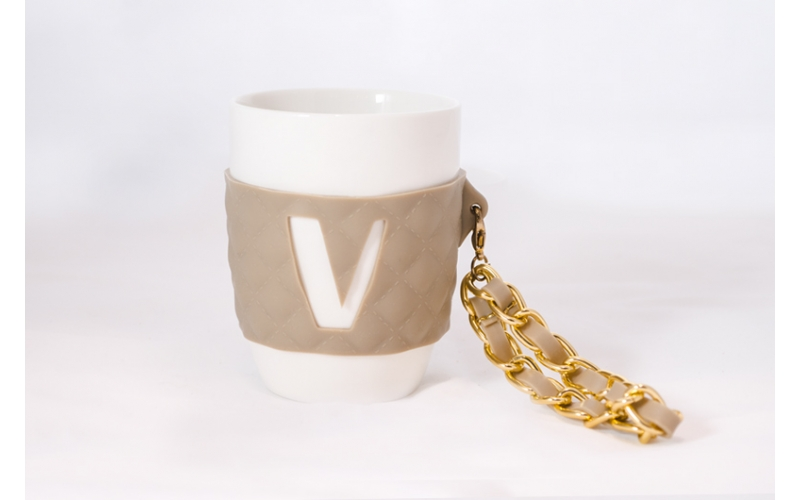 Mug So Chic Baci Milano lettera V