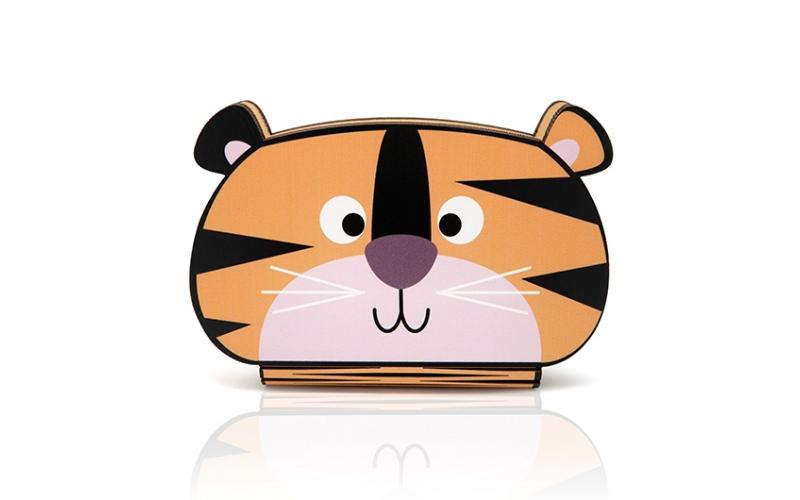 Oobook Lampada Libro Mini Jungle Tiger
