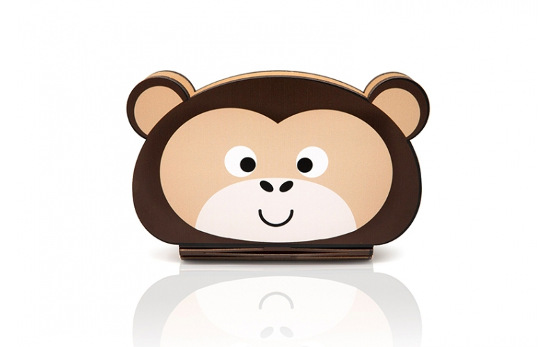 Oobook Lampada Libro Mini Jungle Monkey