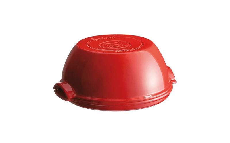 Cuoci pane Rosso Gran Cru Emile Henry cm. 34x28,5x16,5