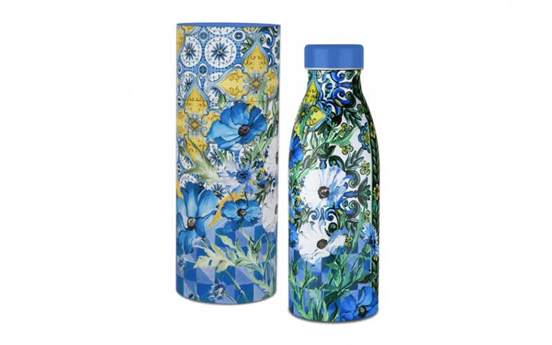 Bottiglia termica - milano blu baci milano