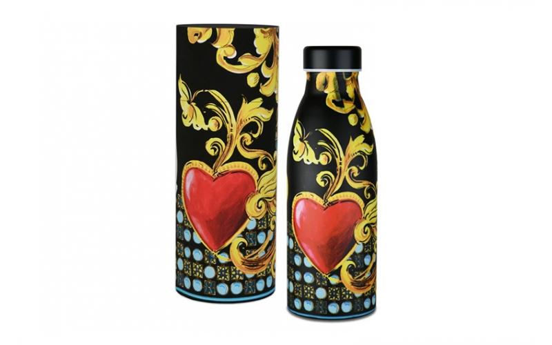 Bottiglia termica - le gioie black mood baci milano