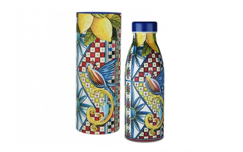 Bottiglia termica - sicily blu baci milano