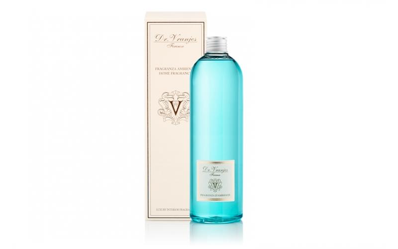 Ricarica di profumo Dr Vranjes 500ml con bastoncini bianchi Acqua