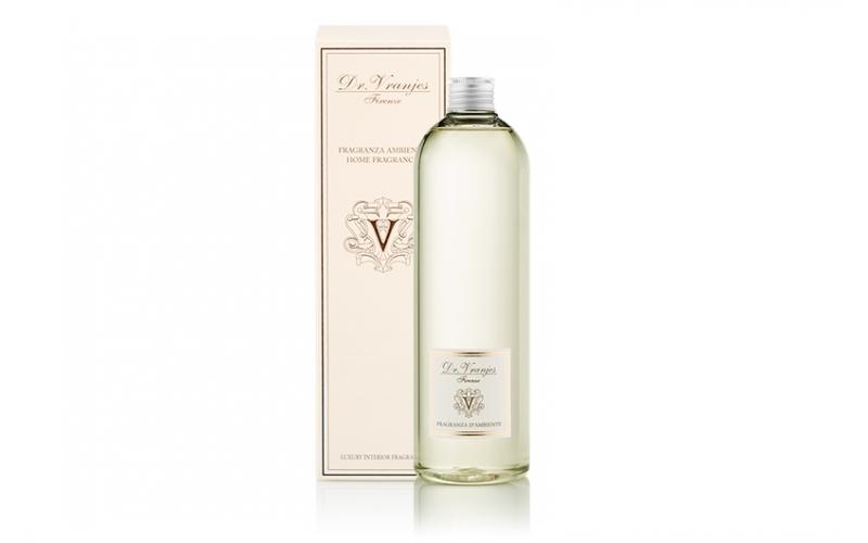 Ricarica di profumo Dr Vranjes 500ml con bastoncini bianchi ambra