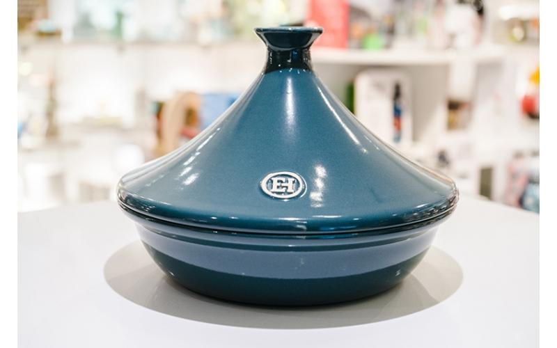 Casseruola Tajine Emile Henry cm 26 blu petrolio