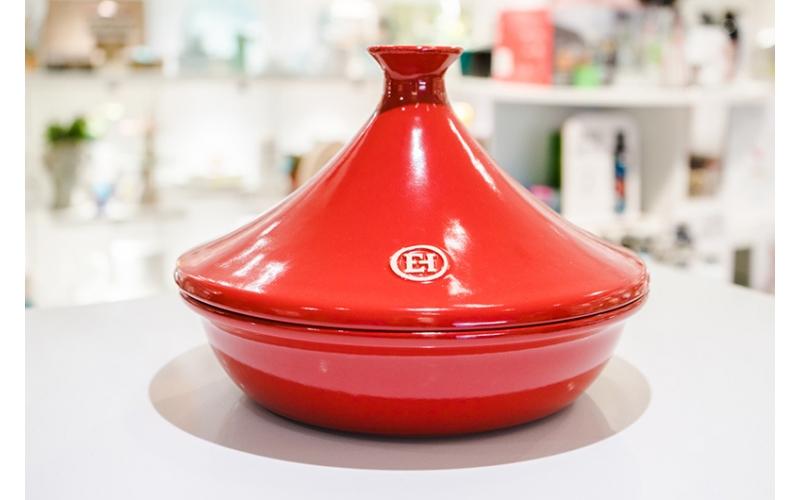 Casseruola Tajine Emile Henry cm 26 rossa