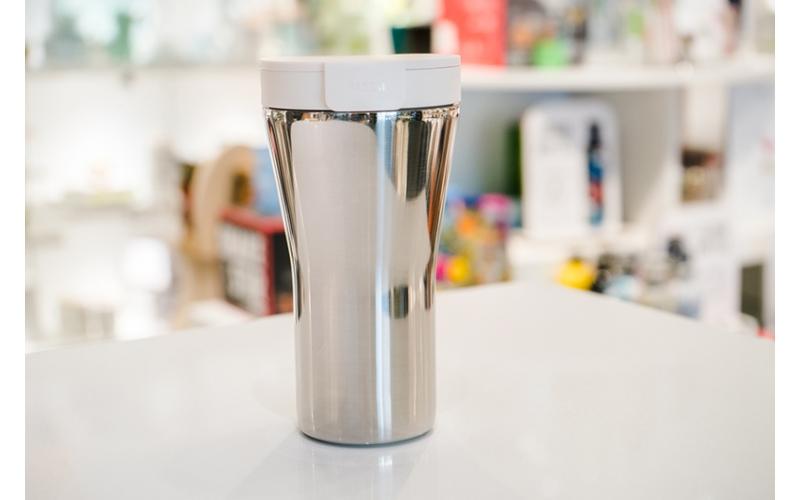 "Travel mug ""Caffa"" bianco Alessi"