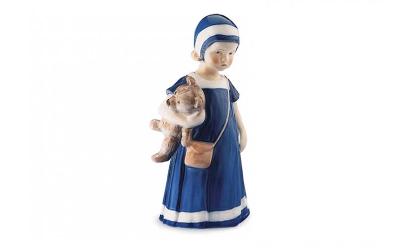 Elsa con orsetto in porcellana Royal Copenhagen