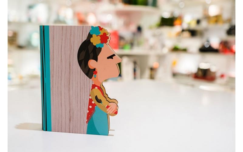 Lampada Libro Hero Light Frida Kahlo