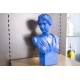 Busto donna blu Bellimbusti