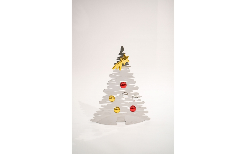 Albero di Natale Alessi Bark for Christmas acciaio