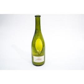 Candela profumata EDG al sentore di Pinot Grigio in bottiglia di vino