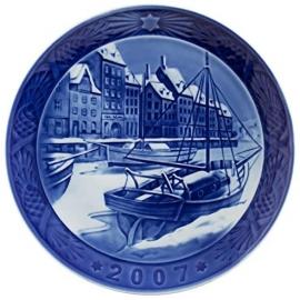 Piatto di Natale 2007 in porcellana Royal Copenhagen