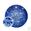 Piatto di Natale bimbo 2006 Royal Copenhagen con plaquette