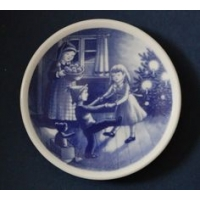 Plaquette di Natale Christmas Plaquette 2002 Bing&Grondahl