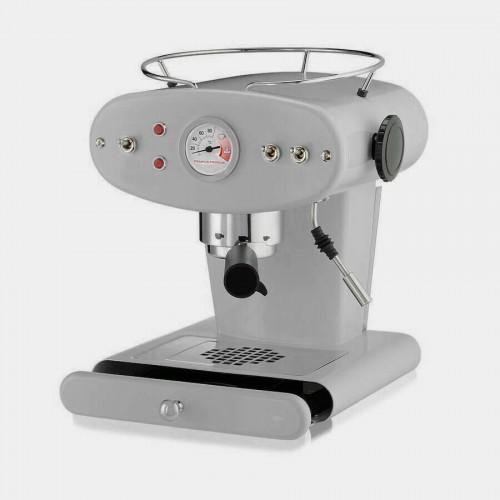 Macchina del caffè Francis design Luca Trazzi grigia