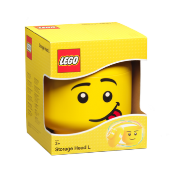 Contenitore Lego Storage Head Silly Boy S