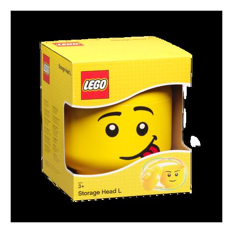 Contenitore Lego Storage Head Silly Boy S