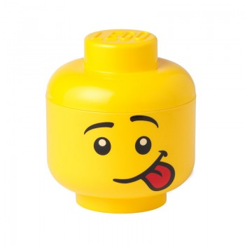 Contenitore Lego Storage Head Silly Boy L