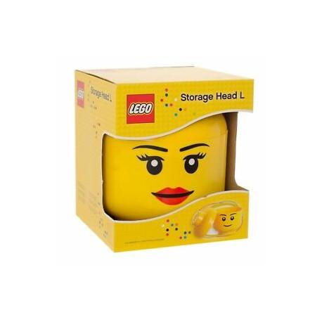 Contenitore Lego Storage Head Girl L