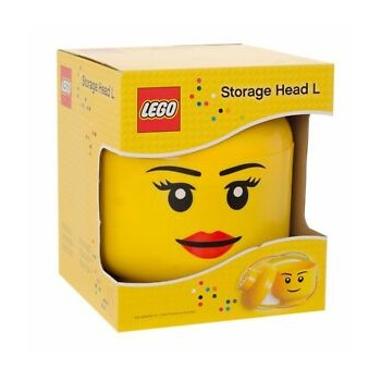 Contenitore Lego Storage Head Girl L