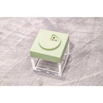 Contenitore Omada Brick Store in stile Lego colore Sage Green (verde salvia) capacità 10 cl