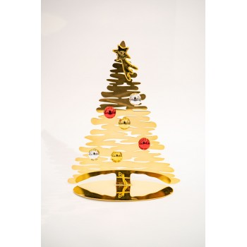 Albero di Natale Alessi Bark for Christmas gold
