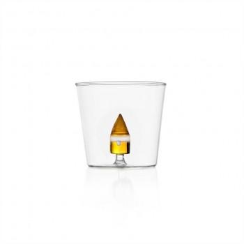 Bicchiere Ichendorf Milano, linea Xmas Pino's occhio