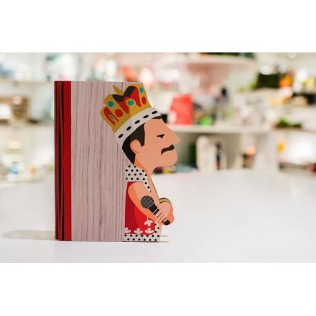Lampada Libro Hero Light Freddie Mercury