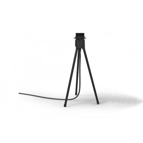 Tripodio da tavolo colore NERO per lampada linea CONIA e SILVIA