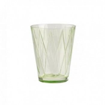 Bicchiere Dressed Up Villeroy&Boch colore rhombus verde