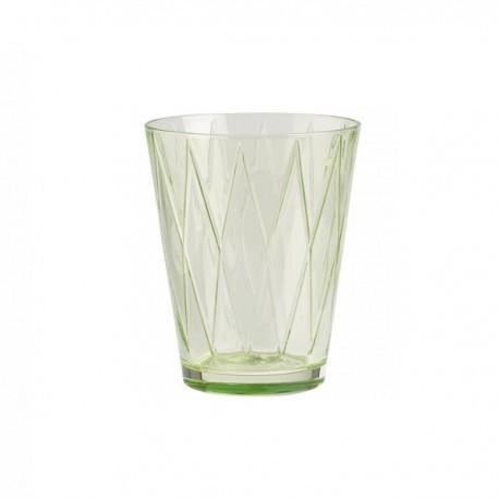 Bicchiere Dressed Up Villeroy&Boch colore rhombus verde