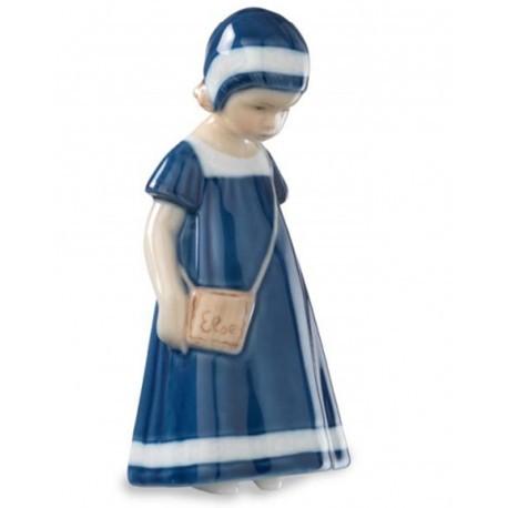 Elsa con vestito blu in porcellana Royal Copenhagen