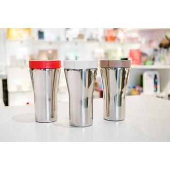 """Travel mug """"Caffa"""" rosso Alessi"""