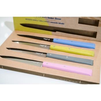Set 4 coltelli multicolor pastello Opinel