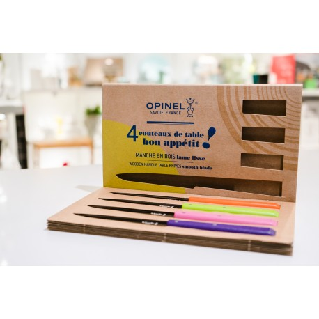 Set 4 coltelli multicolor Opinel