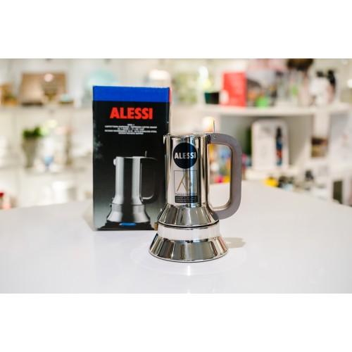 """Caffettiera Alessi 1 Tazza """"9090"""" in acciaio inox 18/10 per induzione"""