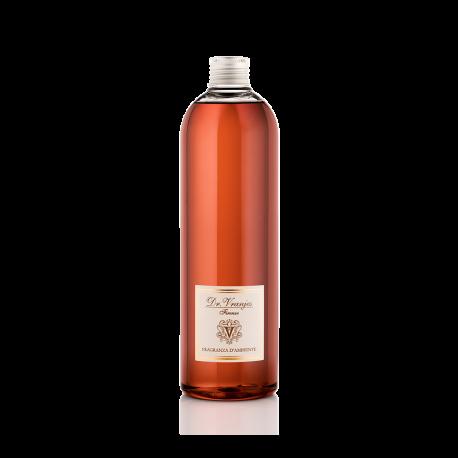Ricarica di profumo Dr Vranjes 500ml con bastoncini bianchi arancio e uva rossa