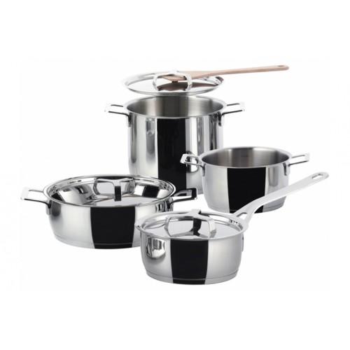 Batteria di pentole Alessi - Pots & Pans set 7 pezzi