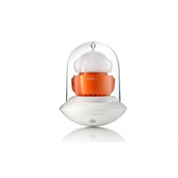 Lampada led Alessi Ufo arancio