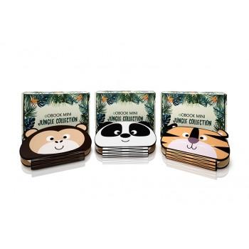 Oobook Lampada Libro Mini Jungle Panda