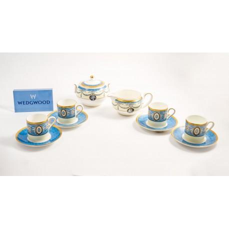 Set da 12 tazze da caffè con lattiera e zuccheriera Madeleine Wedgwood