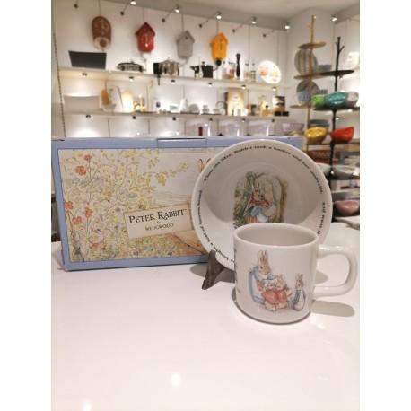 "Set pappa in ceramica ""Peter Rabbit"" Wedgwood"